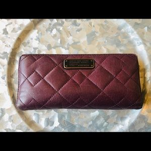 Marc by Marc Jacobs Burgundy leather Wallet